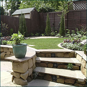 Family garden design practical gardens for adults and for Practical garden designs